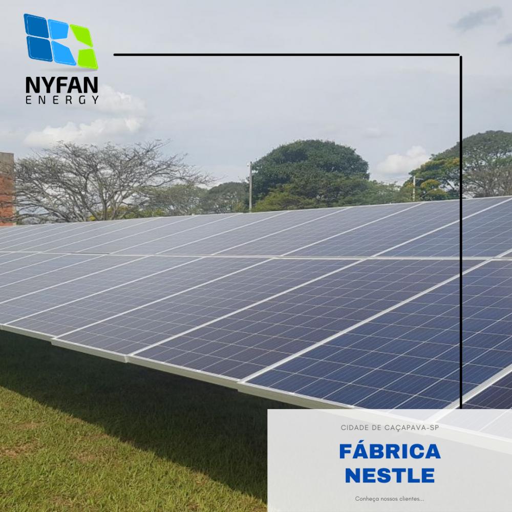 Nyfan Energy demonstra mais uma de suas inúmeras instalações
