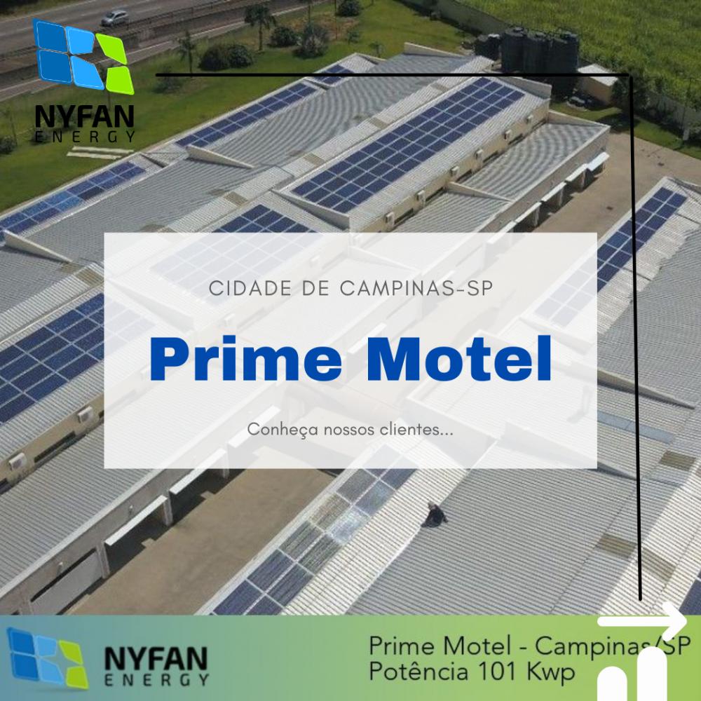 NYFAN ENERGY, reduz 95% da conta do Prime Motel em Campinas